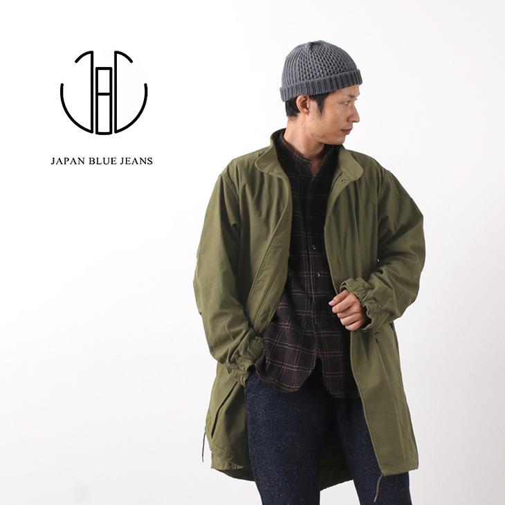 【期間限定!クーポンで10%OFF】JAPAN BLUE JEANS(ジャパンブルージーンズ) J433141  M-65 モッズコート / ミリタリー / コットン / ナイロン / メンズ / 日本製