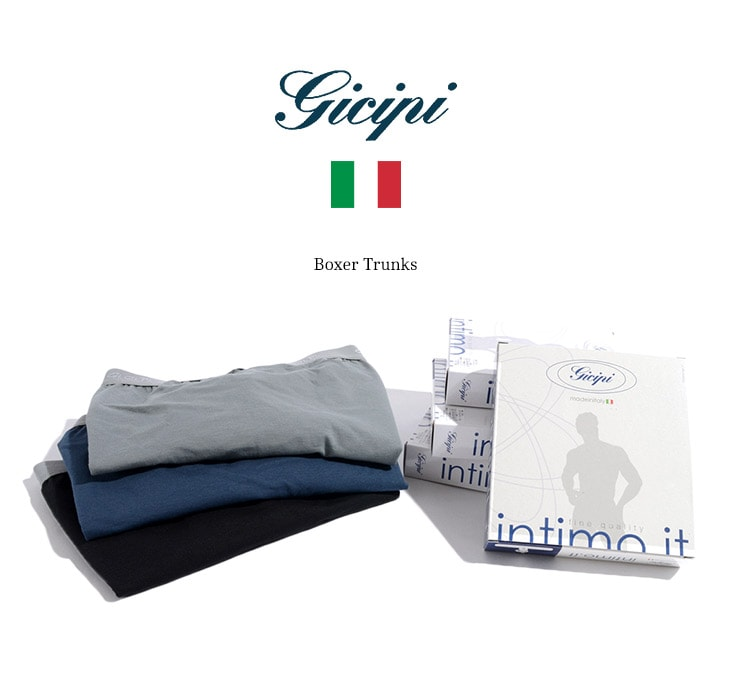 GICIPI(ジチピ) ボクサートランクス / ボクサーパンツ / イタリア製
