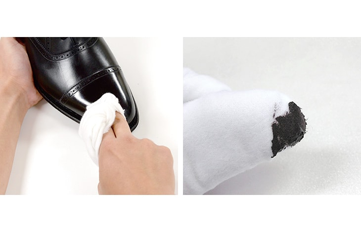 【期間限定!クーポンで10%OFF】COLUMBUS(コロンブス) 磨きクロス 2枚入り / 革用 / クリーム塗布 / 両面起毛タイプ / 綿100%