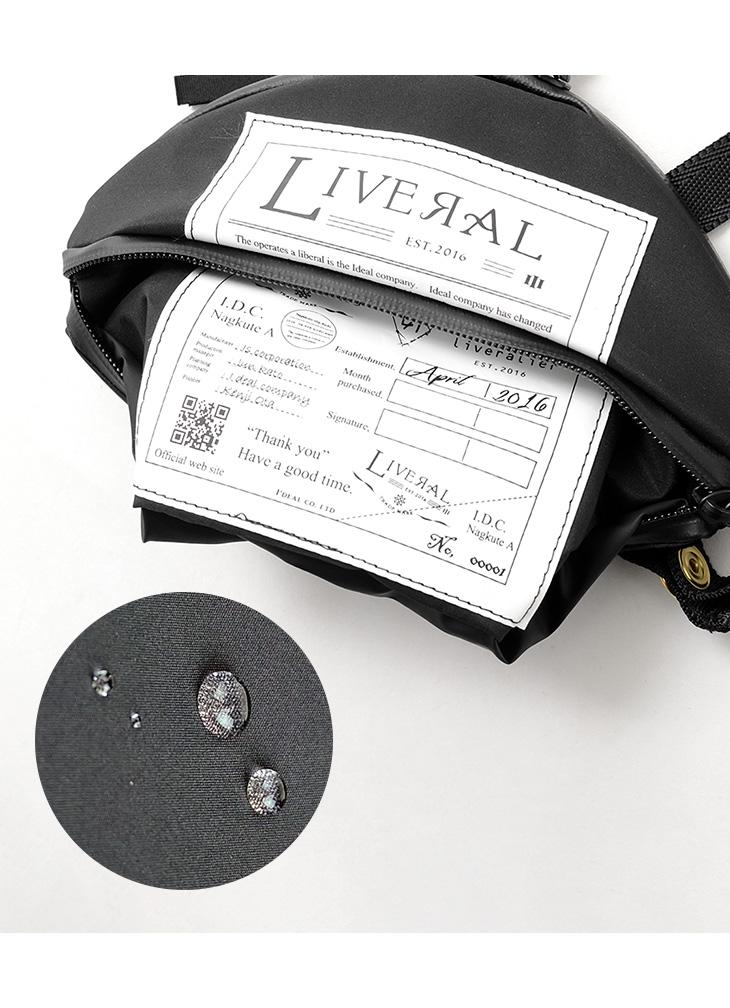 LIVERAL(リベラル) ARATA 2 / アラタ / スーパー ウォーター リペレント / ショルダー バッグ / バッグインバッグ / 撥水 防水 軽量 / ARATA 2 / SUPER WATER REPELLENT