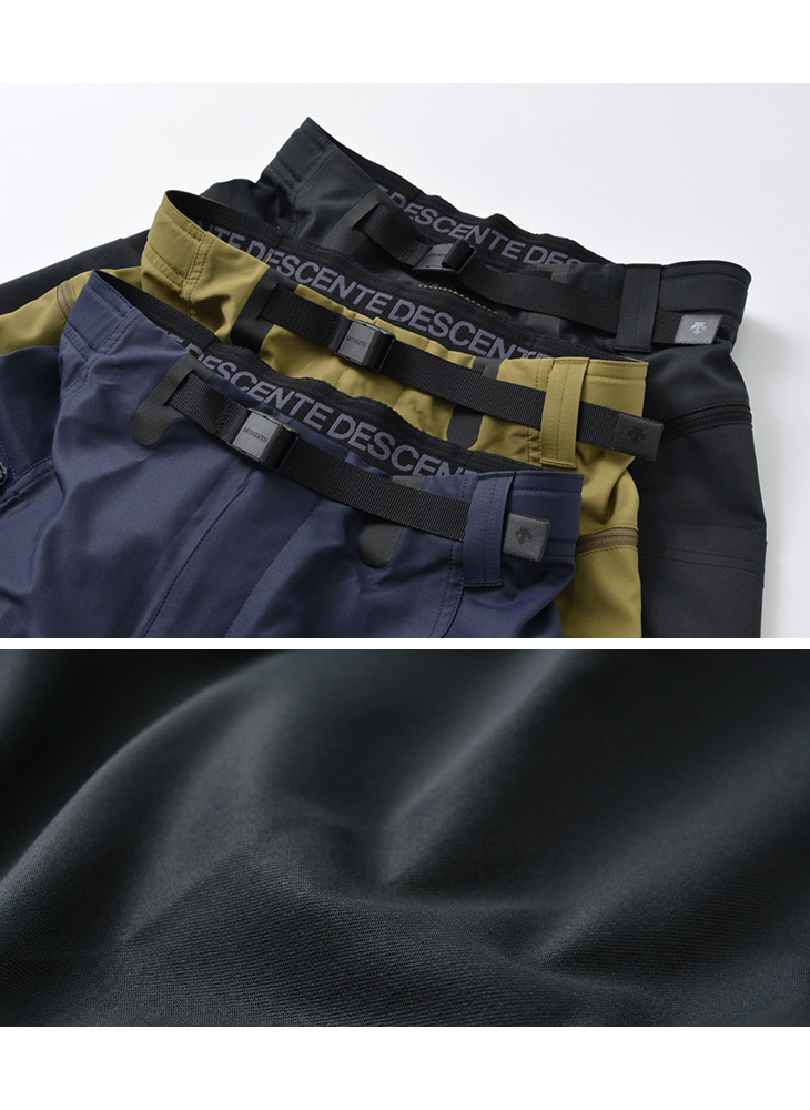 DESCENTE OUTDOOR(デサントアウトドア) ストレッチ ロングパンツ / メンズ / アウトドア / カーゴパンツ / スポーティ / 撥水 / DOMRJD80 / STRETCH LONG PANTS