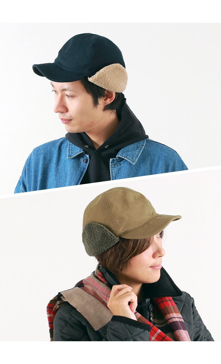 【期間限定!クーポンで10%OFF】HIGHER(ハイヤー) コードレーン ハンターキャップ / 帽子 / メンズ / レディース / 日本製