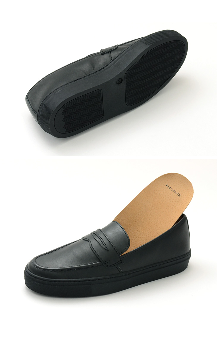 【50%OFF】PICCANTE(ピカンテ) ペニー ローファー / レザースニーカー / 革靴 / メンズ / ポルトガル製 / PENNY LOAFERS / LEATHER SHOES【セール】