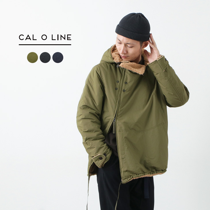 CAL O LINE (キャルオーライン) アップデート スノーパーカー / 裏ボア フード ジャケット / ミリタリー / メンズ / 日本製