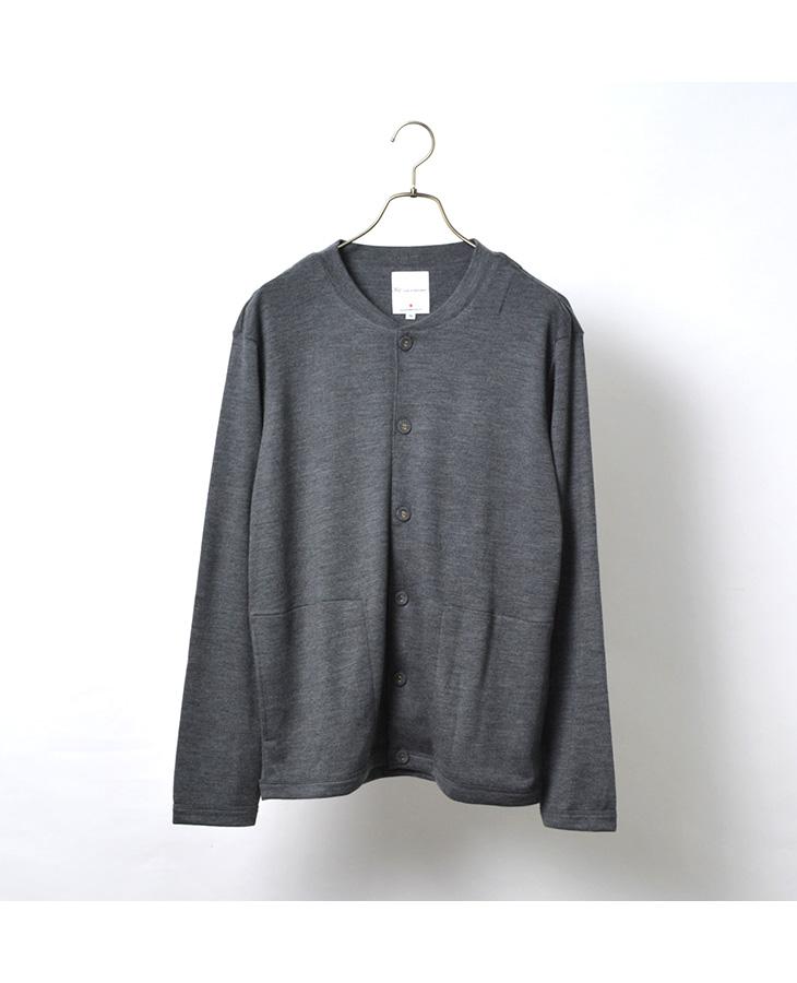 RE MADE IN TOKYO JAPAN(アールイー) ドレスウールニット クルーカーディガン / メンズ / 日本製 / DRESS WOOL KNIT