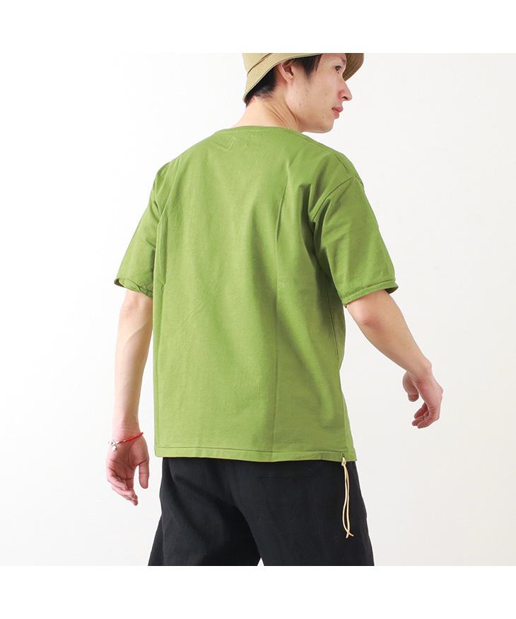 【30%OFF】CAL O LINE(キャルオーライン) ソリッドカラー ポケット Tシャツ / 半袖 無地 / メンズ / 日本製 / SOLID COLOR POCKET T-SHIRT【セール】