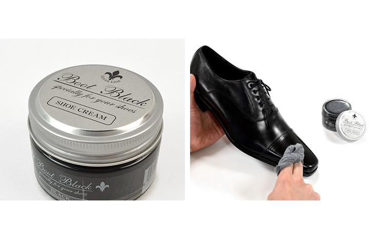 【期間限定!クーポンで10%OFF】BOOT BLACK SILVER LINE(ブートブラックシルバーライン) シュークリーム / 靴クリーム / ツヤ出し 保革 補色 / COLUMBUS(コロンブス)
