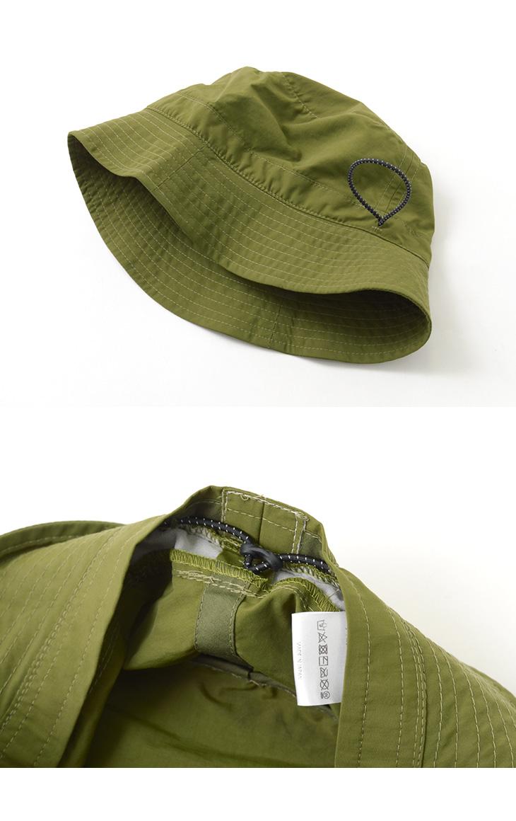 BURLAP OUTFITTER(バーラップアウトフィッター) バケットハット / 速乾 / SUPPLEX / UVカット / 撥水 / 日本製 / メンズ / BUCKET HAT