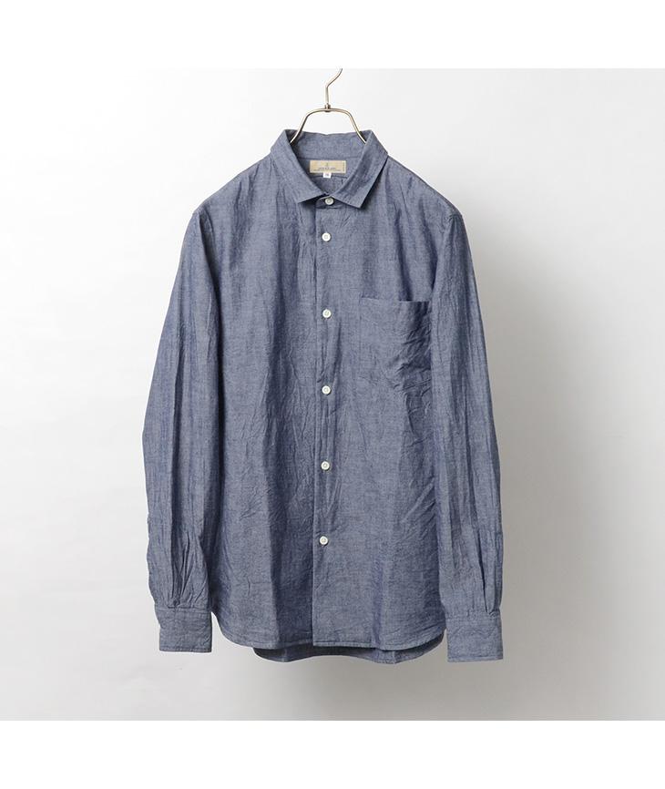 【期間限定!クーポンで10%OFF】JAPAN BLUE JEANS(ジャパンブルージーンズ) J350323 ボーノシャツ / メンズ / コートジボワール綿 / ドレス シャツ / ワークシャツ / コットン / BOUNO SHIRT