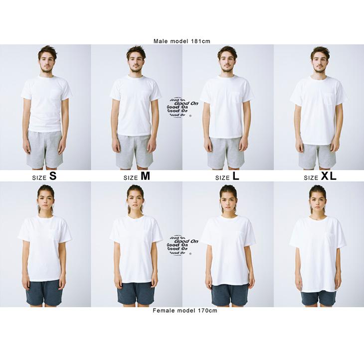 Good On(グッドオン) GOST-701HD ホライゾンダイ ショートスリーブ Tシャツ / メンズ レディース / 半袖 / 日本製 / タイダイ / 柄 / GOST1408 / HORIZON DYE S/S TEE