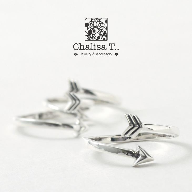 CHALISA T..(チャリッサ・ティー) エクストラファイン シルバー リング / アロー / シルバー925 / 指輪 / レディース