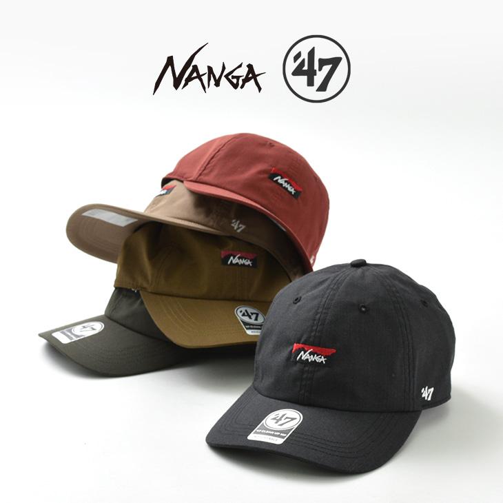 【期間限定!クーポンで10%OFF】NANGA(ナンガ) ナンガ×47 タキビ キャップ / メンズ レディース / TAKIBI(タキビ)生地 / 難燃 / アウトドア / NAG-F20-CS05-B / NANGA × 47 TAKIBI CAP