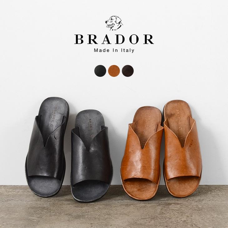BRADOR(ブラドール) メンズ レザーサンダル / イタリア製 / BR201LT31041 / MENS LEATHER SANNDALS