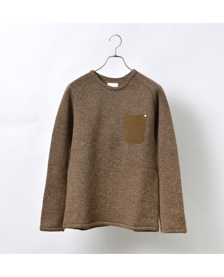 RE MADE IN TOKYO JAPAN(アールイー) ローゲージウール エアリーニット / メンズ / 日本製 / WOOL AIRLY KNIT