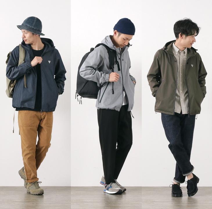 RAG(ラグ) ゴーアウト テックジャケット / メンズ / コーデュラ / 日本製 / ROCOCO / GO OUT TECH JACKET