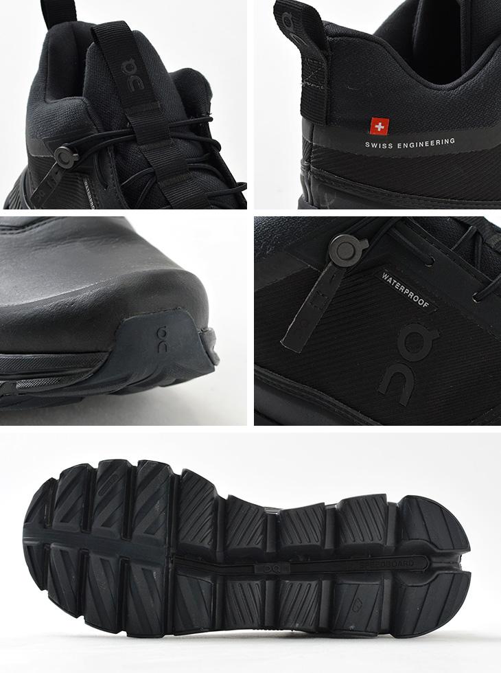 【期間限定!クーポンで10%OFF】ON(オン) クラウド ウォータープルーフ / メンズ / スニーカー / ランニングシューズ / 靴 / 防水加工 軽量 / CLOUD HI WATERPROOF