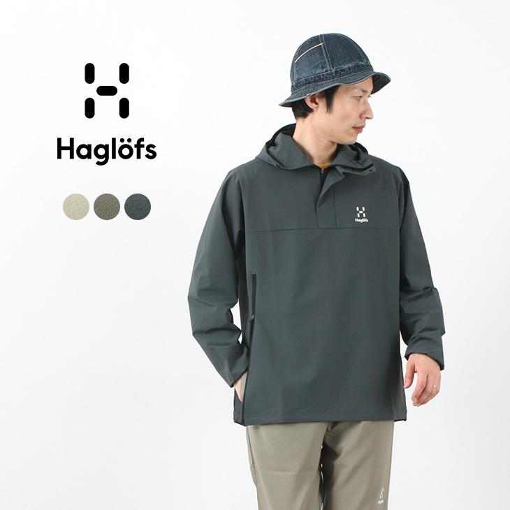 【期間限定!クーポンで10%OFF】HAGLOFS(ホグロフス) ソフト シェル アノラック / メンズ / パーカー / 撥水 / 薄手 軽量 / ストレッチ / アウトドア / プルオーバー / SOFT SHELL ANORAK / 010515