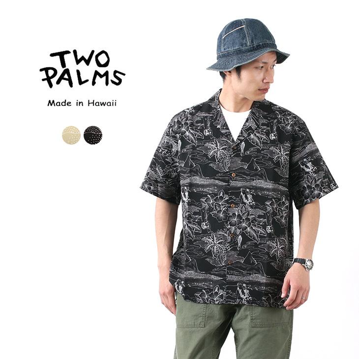 TWO PALMS(トゥーパームス) ハワイアンシャツ レーヨン ETCES OF HAWAII / メンズ / アロハシャツ / 半袖