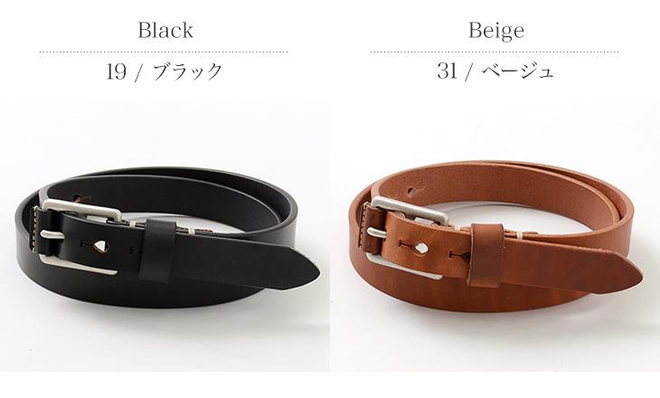 BARNS(バーンズ) WICKETT & CRAIG 25mm BELT / メンズ / ベルト / レザー / 日本製 / LE-4312