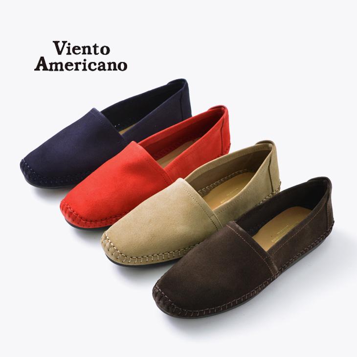 VIENTO AMERICANO(ヴィエントアメリカーノ) ドライビングシューズ / メンズ / スエード / トゥハンドステッチ / 150