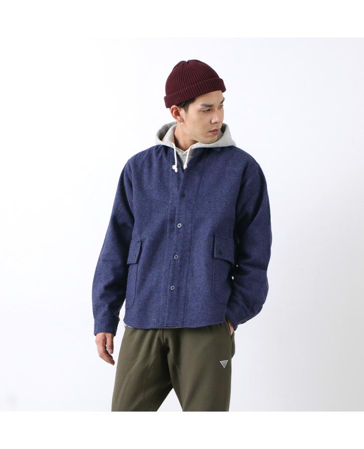 MANUAL ALPHABET(マニュアルアルファベット) CPOジャケット / シャツジャケット / ウール / メンズ / 日本製