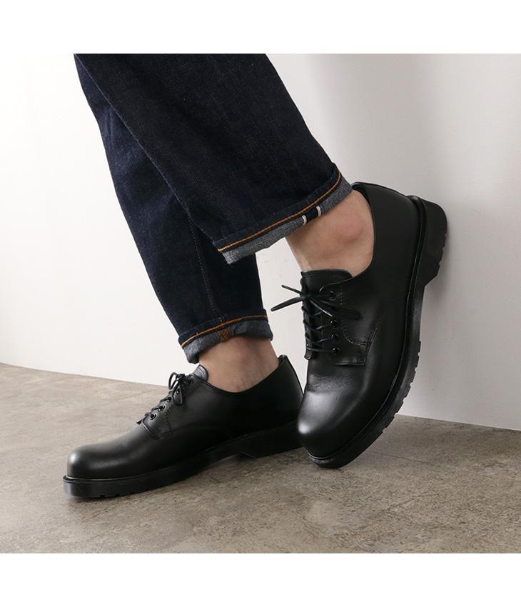 【期間限定!10%OFFクーポン対象】【50%OFF】CROWN(クラウン)  ポストマンシューズ 5アイレット / プレーントゥ  /外羽根 / メンズ / ラバーソール / レザー 革靴【セール】