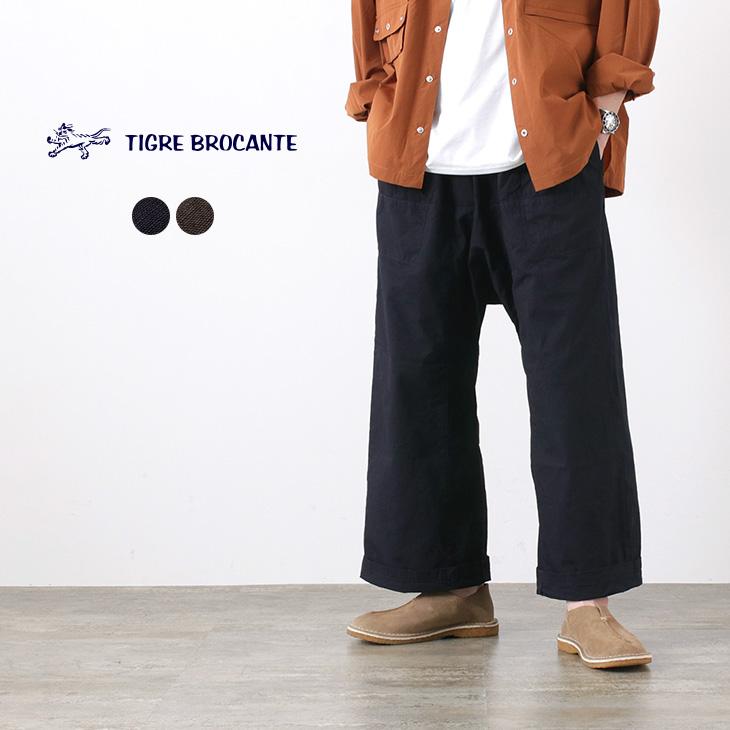 TIGRE BROCANTE(ティグルブロカンテ) ジンバブエ ムエタイ パンツ / メンズ / レディース / ユニセックス / イージー パンツ / コットン / 日本製 / リラックス