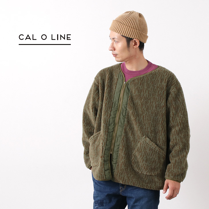【20%OFF】CAL O LINE(キャルオーライン) パイルライナー / メンズ / 日本製 / PILE LINER / liou【セール】