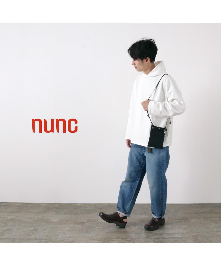 NUNC(ヌンク) 3レイヤー ナイロンショッピングポーチ / ミニショルダー / メンズ レディース / ショルダーバッグ / 撥水 防水 軽量 / 3LAYERED NYLON SHOULDER