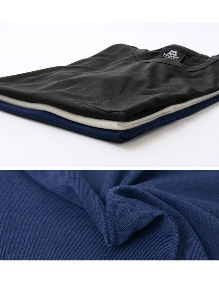MOUNTAIN EQUIPMENT(マウンテンイクィップメント) クイックドライ ポケット Tシャツ / 半袖 無地 / 吸水 速乾 / アウトドア / 425723 / QD POCKET TEE