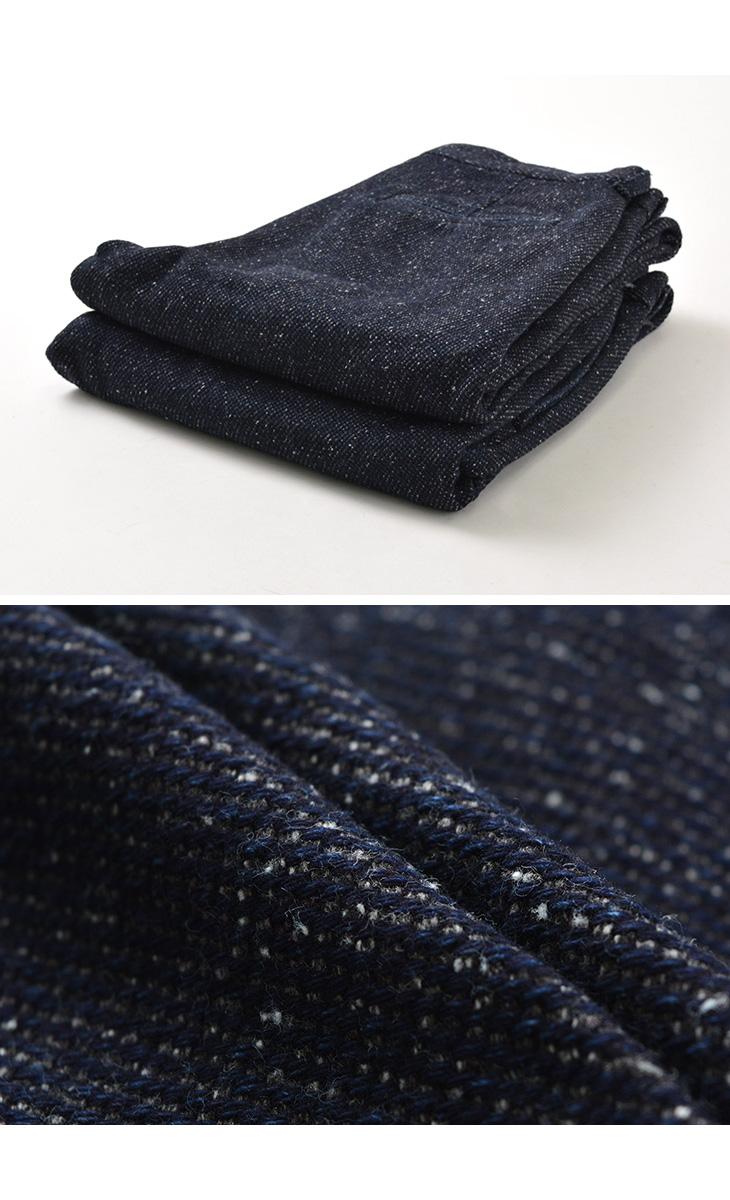 【期間限定!クーポンで10%OFF】JAPAN BLUE JEANS(ジャパンブルージーンズ) J757341 デニムツイード イージー テーパードパンツ / メンズ / インディゴ / 日本製 / DENIM TWEED EASY TAPERED