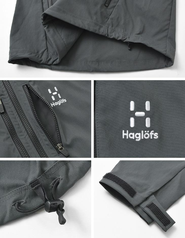 HAGLOFS(ホグロフス) ハイブリッド ストレッチ ジャケット / メンズ / パーカー / フード / 撥水 / ストレッチ / アウトドア / 010424 / HYBRID STRETCH JK