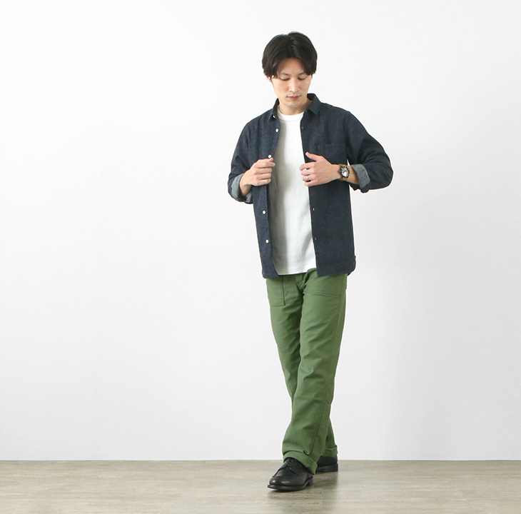【期間限定!クーポンで10%OFF】JAPAN BLUE JEANS(ジャパンブルージーンズ) JB1500 モダンミリタリー ベイカーパンツ / ベーカー / メンズ / 岡山 日本製 / J27312J01 / MODERN MIRITARY BAKER PANTS