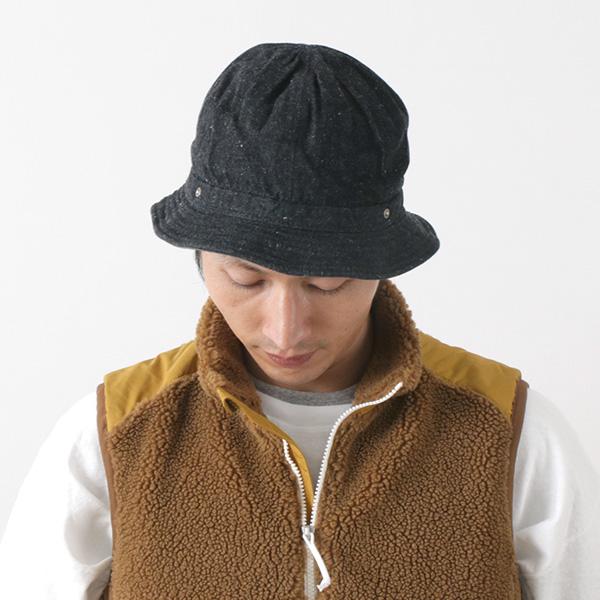 DECHO(デコ) コメハット デニム / メンズ レディース / ワークハット / 日本製 / KOME HAT D-04
