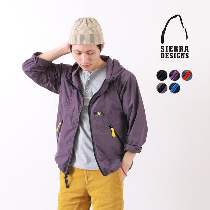 【期間限定!クーポンで10%OFF】SIERRA DESIGNS(シェラデザイン) マイクロ ライト ジャケット / パッカブル / レインボーロゴ / ジップアップ パーカー / メンズ / MICRO LIGHT JACKET