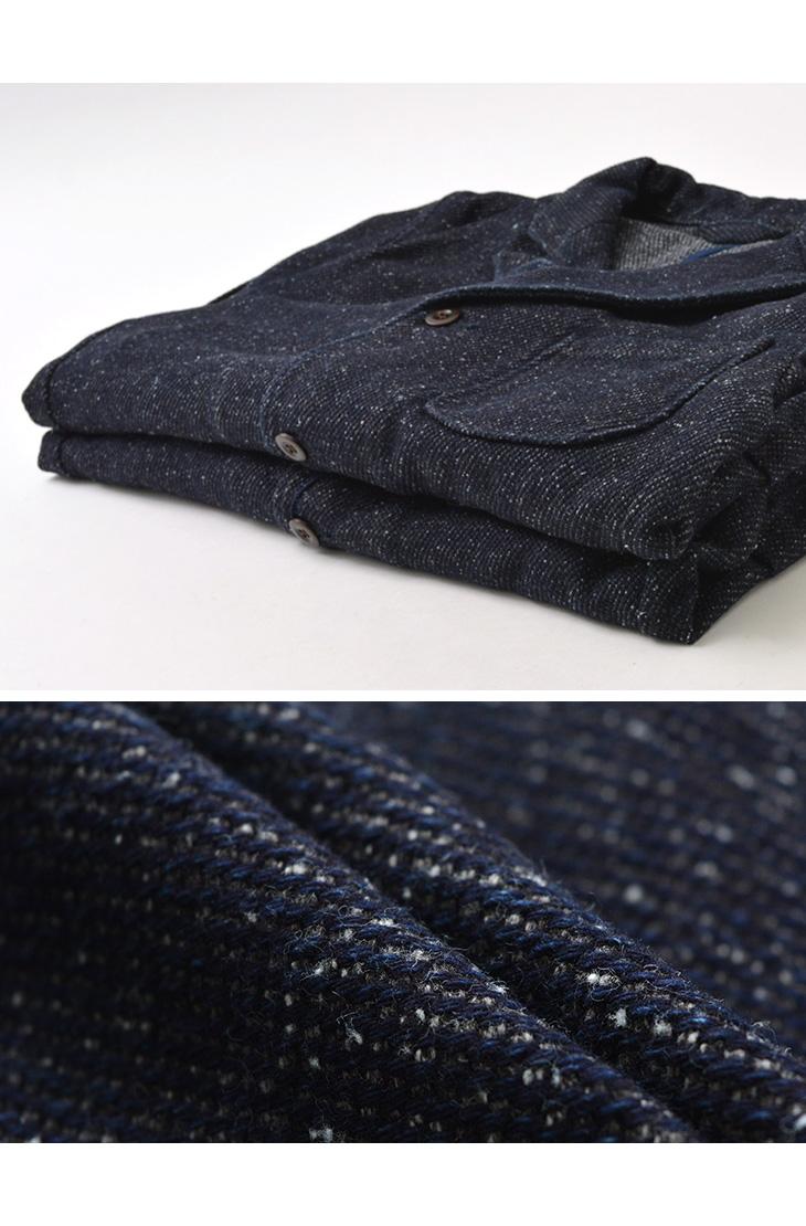 【期間限定!クーポンで10%OFF】JAPAN BLUE JEANS(ジャパンブルージーンズ) J397341 デニム ツイード クラシック ジャケット / メンズ / インディゴ / 日本製 / DENIM TWEED CLASSIC JACKET