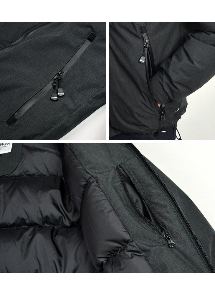 NANGA(ナンガ) 別注 焚火 オーロラ ダウンジャケット / TAKIBI(タキビ)生地 / メンズ 日本製 / AURORA DOWN JACKET EXCLUSIVE