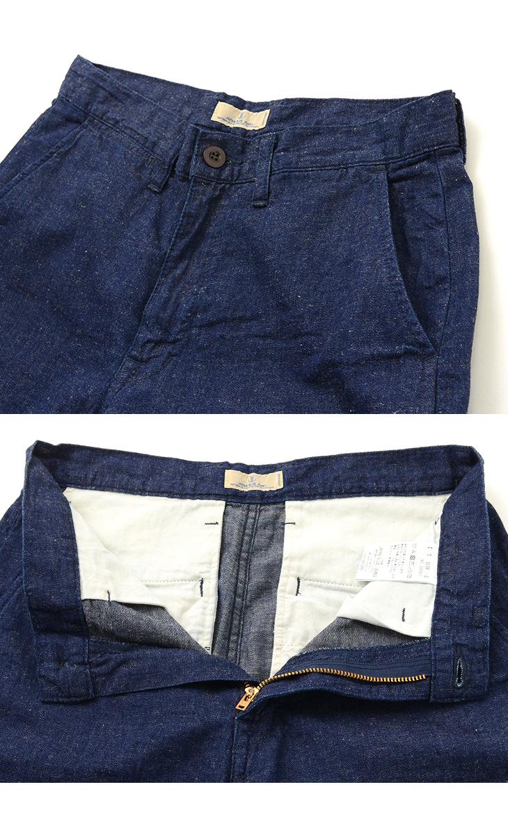 JAPAN BLUE JEANS(ジャパンブルージーンズ) J327511 ニーショーツ / コットン リネン デニム / メンズ / ショートパンツ / 日本製 / KNEE SHORTS/COTTON LINEN DENIM