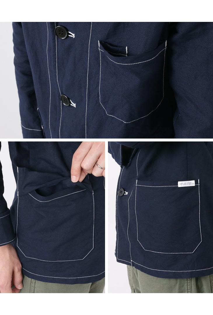 【50%OFF】ROCOCO(ロココ) チョア ジャケット アメリカンオックス / テーラードジャケット / ワークジャケット / メンズ / 日本製