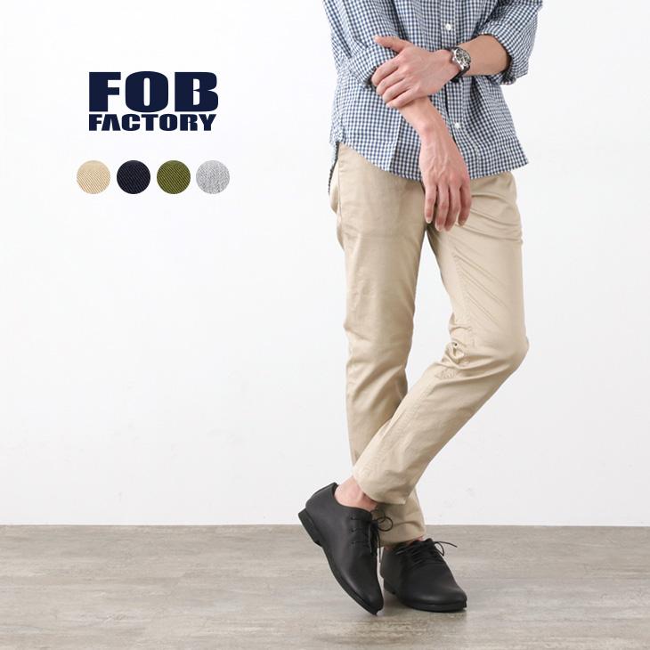 FOB FACTORY(FOBファクトリー) F0387 チノトラウザー / メンズ / チノパン / ストレッチ / コットンパンツ / 日本製