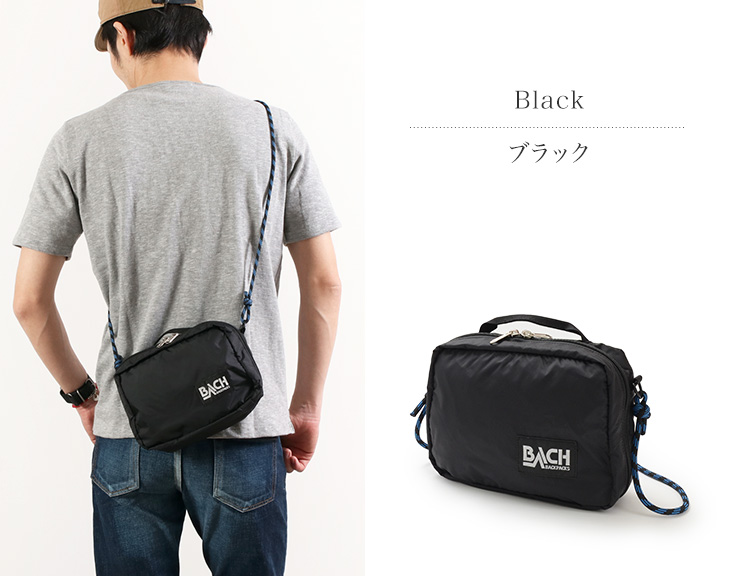 【40%OFF】BACH(バッハ) アクセサリーバッグ M / ミニショルダーバッグ / ポーチ / サコッシュ / メンズ レディース / ACCESSORY BAG M【セール】
