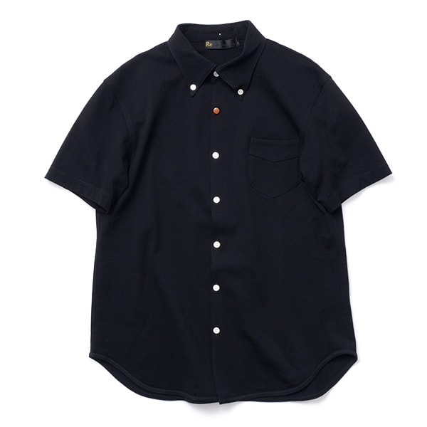 【20%OFF】RE MADE IN TOKYO JAPAN(アールイー) ギザ カノコ ドレス ボタンダウンシャツ / コットン 鹿の子 / メンズ / 日本製 / GIZA KANOKO DRESS BD SHIRT【セール】