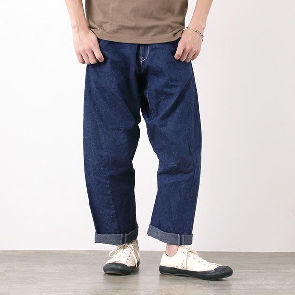 CAL O LINE(キャルオーライン) バレル ペインターパンツ / デニム / ワイド / メンズ / 日本製 / BARREL PAINTER PANTS / CL162-034