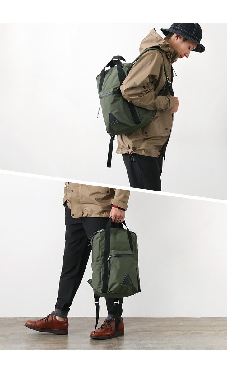 【期間限定!クーポンで10%OFF】ANONYM CRAFTSMAN DESIGN(アノニム クラフツマン デザイン) 6H デイパック / 透湿防水デイパック / バックパック リュック / メンズ レディース / 日本製 / ANM-15S-HB