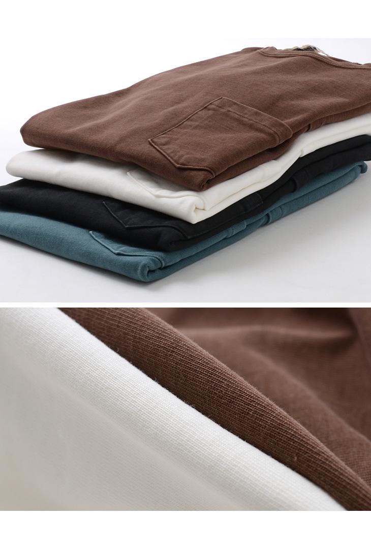 REMI RELIEF(レミレリーフ) 16/2 天竺 5ポケット Tシャツ / メンズ / ヘビーヘビーウェイト 厚手 / 半袖 無地 / 日本製