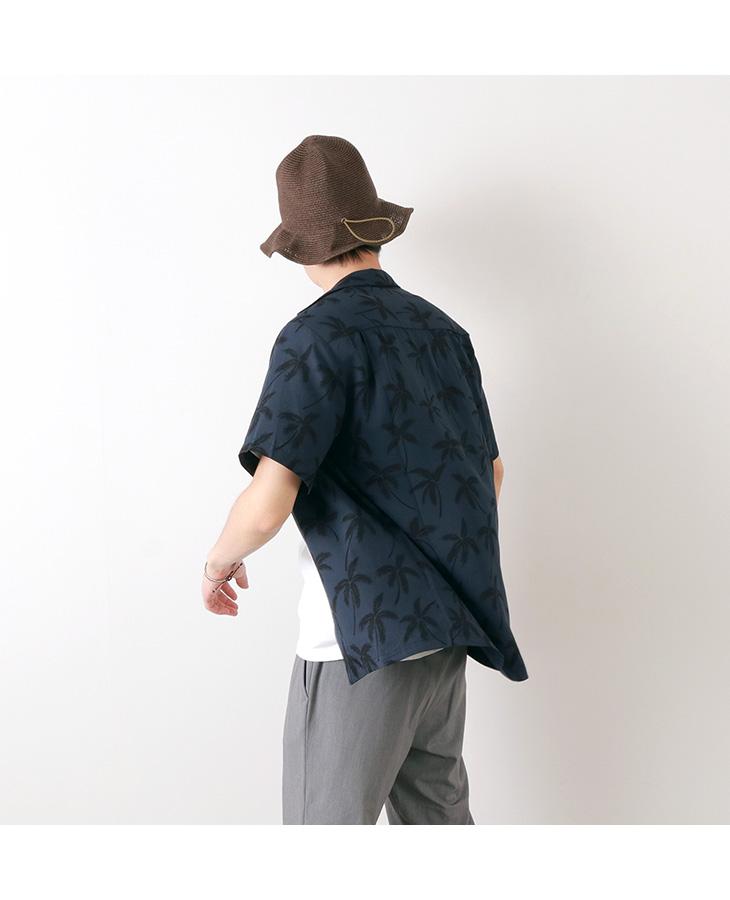 TWO PALMS(トゥーパームス) ハワイアンシャツ / レーヨン / パームツリー / アロハシャツ / 半袖 / メンズ
