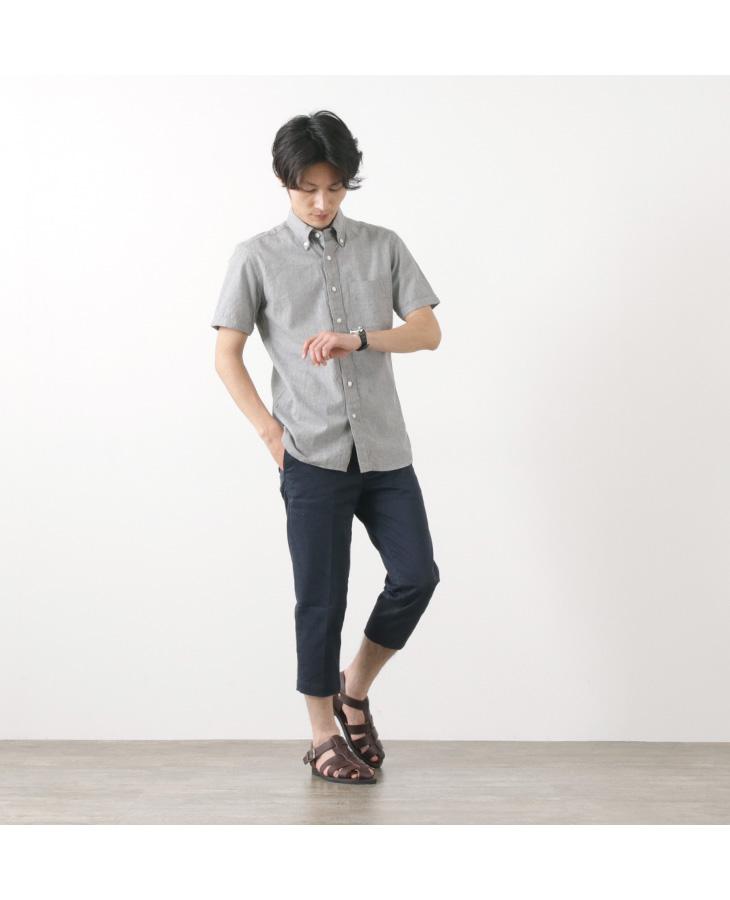 JAPAN BLUE JEANS(ジャパンブルージーンズ) 別注 オフィサー クロップド パンツ / フレンチワーク チノ / ストレッチ / メンズ / RJB4700 / 岡山 日本製