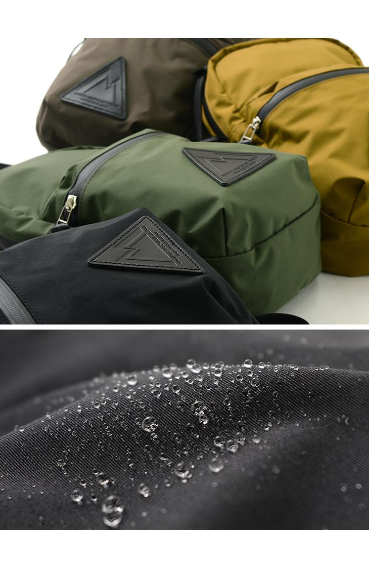【期間限定!クーポンで10%OFF】ANONYM CRAFTSMAN DESIGN(アノニム クラフツマン デザイン) 3H ショルダーバッグ / BAG 透湿防水ショルダーポーチ / 縦型 / メンズ レディース / 日本製