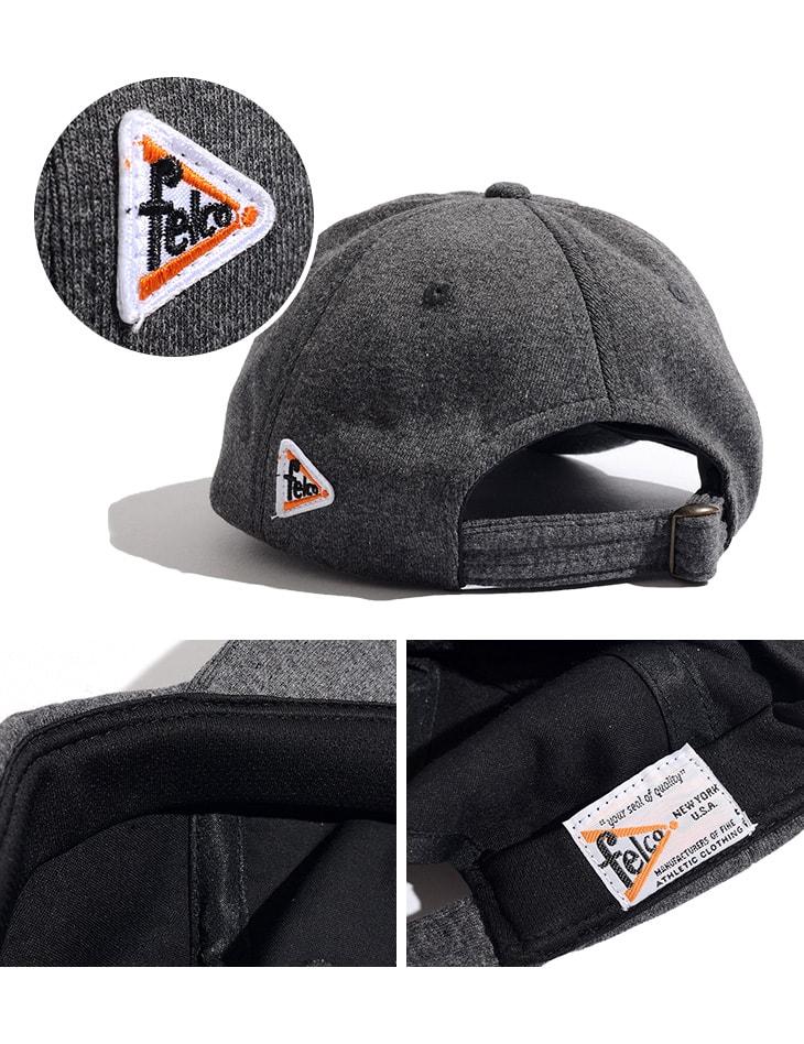 FELCO(フェルコ) スウェット ベースボール キャップ / メンズ  / アルファベット / SWEAT BASEBALL CAP