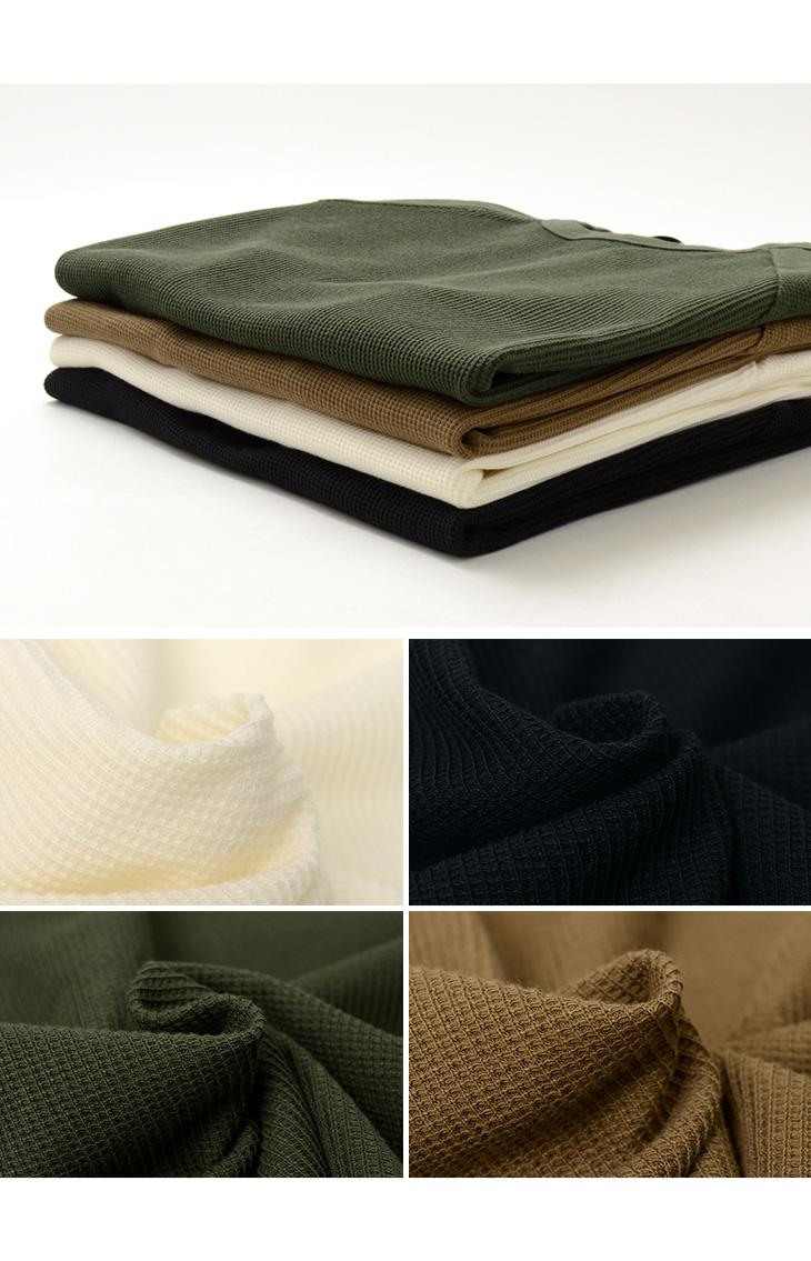【20%OFF】BLURHMS(ブラームス) ラフアンドスムース サーマル ルーズフィット Tシャツ / メンズ / 半袖 無地 / 日本製【セール】
